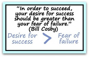 Conquering Your Fear Of Failure In 3 Steps…