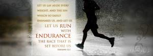 Hebrews 12:1 Facebook Cover