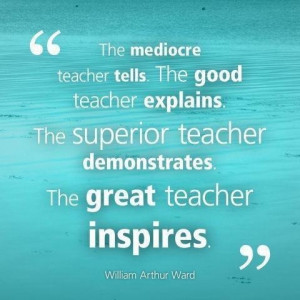 Great teacher inspire