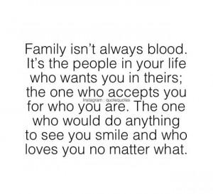 Love: NO matter what