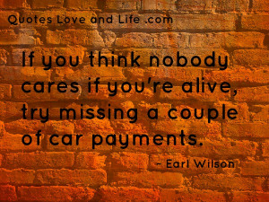 Earl Wilson Quotes (Images)