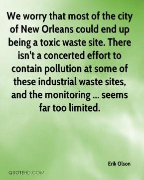 Toxic waste Quotes