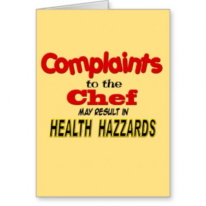 Funny Chef Quotes. QuotesGram