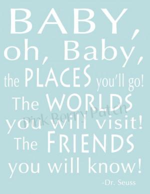Dr. Seuss nursery quote