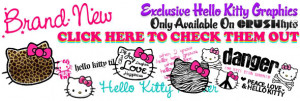 ... quotes, animations, flashing graphics and other awesome hello kitty
