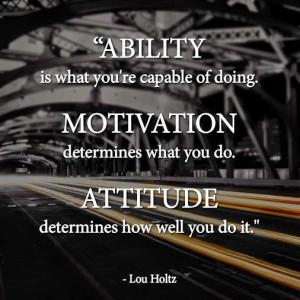 Keywords- #Quotes on Attitude, #Inspirational Image on Determination ...