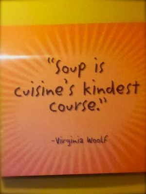 ... Sunday: Soup for the Soul & My Trip to Zoup Fresh Soup Company