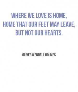 Oliver Wendell Holmes