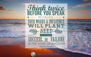 Quotes That Make You Think Twice Think twice before you speak