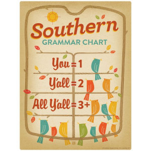 Southern Grammar Wall Decal