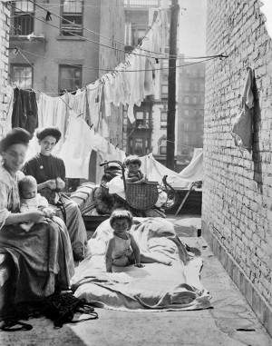 New York Tenement Lewis Hine