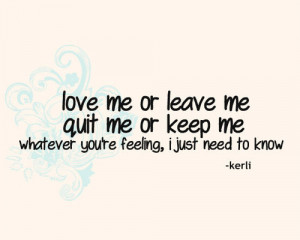 kerli, love, quote, song lyrics