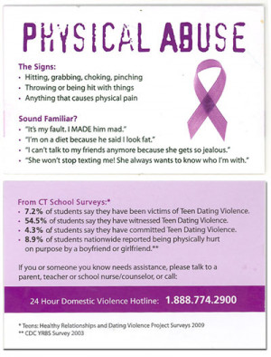 Teen Dating Violence: What Is Physical Abuse?