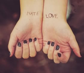 View all Hate Love quotes