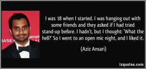 Aziz Ansari Quote