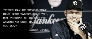 famous baseball quotes derek jeter baseball quotes derek jeter