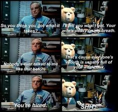ted the movie quotes   Floor watching the movie question ted-movie ...