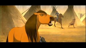 Spirit: Stallion Of The Cimarron Saddest scene?