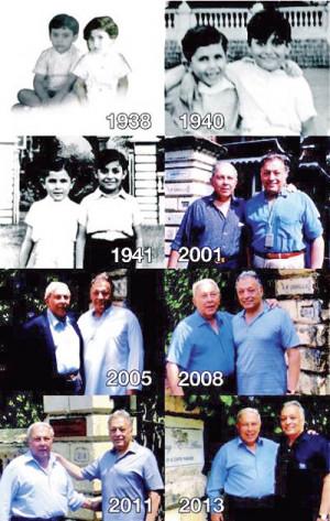 Zubin Mehta and Yusuf Hamied s photographs taken outside 21 Cuffe