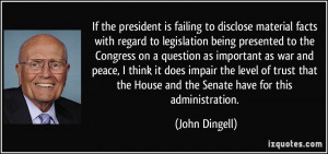 More John Dingell Quotes