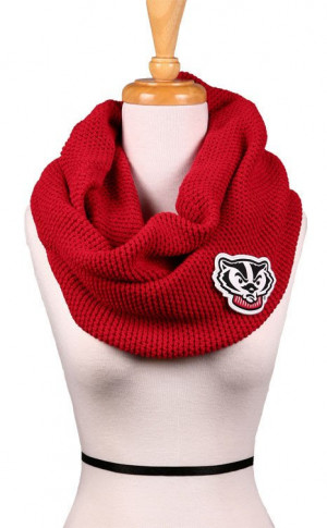 ... com collections wisconsin products wisconsin badgers alma mater scarf