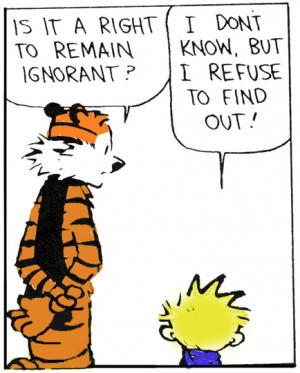 Ignorance is the Root of Suffering!