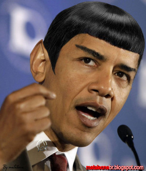 Obama Spock by mataleoneRJ
