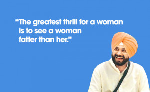 And now some general pearls of wisdom from Sidhu:
