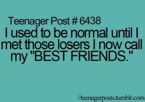 teenager post best friend