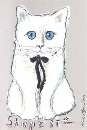 Karl Lagerfeld's Cat Choupette to Star in Holiday Makeup Ad for Shu ...
