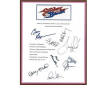 the Bandit Movie Script Signed Autographed Burt Reynolds, Sally Field ...