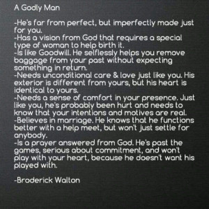 Godly Man Quotes Godly man. via tweetie byrd