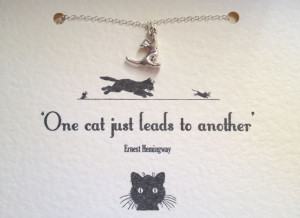 Hemingway quote about cats! We are going to see these cats in key west ...