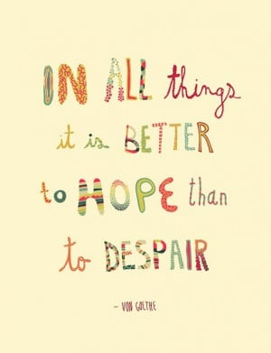 Quotes about hope