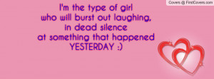 the type of girlwho will burst out laughing , Pictures , in dead ...