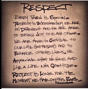 RESPECT Learn It-Earn It-Return It.