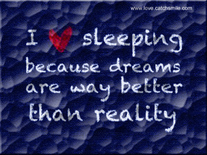 Love Sleeping Because