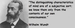 Wilhelm wundt famous quotes 5
