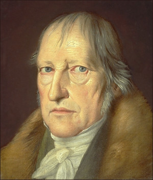 Georg Wilhelm Friédrich Hegel, 1770-1831.
