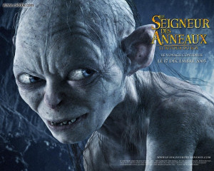 View The Lord of the Rings - Gollum in full screen