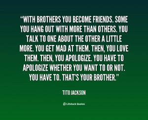 Love My Brother Quotes Inspirational Quotes for My Brother Quotes ...