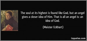 More Meister Eckhart Quotes