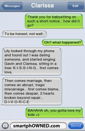 Click Here For More Funny Text Messages