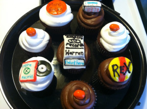Empire Records Rex Manning Day Cupcakes- have a fun movie night with ...