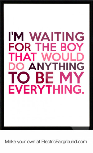 Your My Everything Quotes
