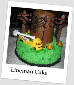 Birthday Cake for Electrical Lineman More
