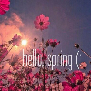 Hello spring. on We Heart It - http://weheartit.com/entry/54122104/via ...