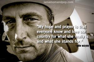John Wayne American Quotes