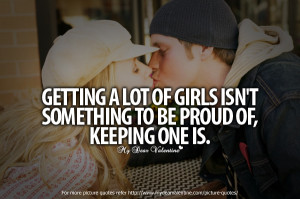 Cute Quotes for Her - Getting a lot of girls