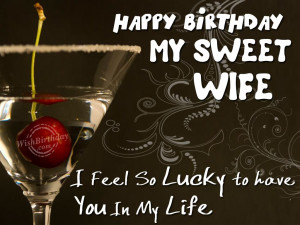 Happy Birthday To My Sweetheart